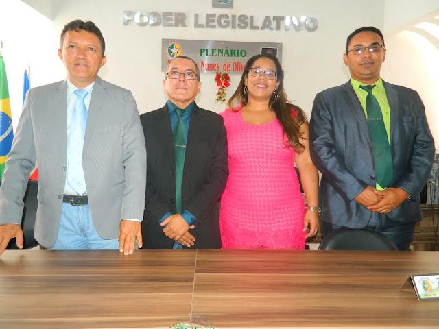 Vereador Neuton Martins é eleito o novo presidente da Câmara Municipal de Brejo.