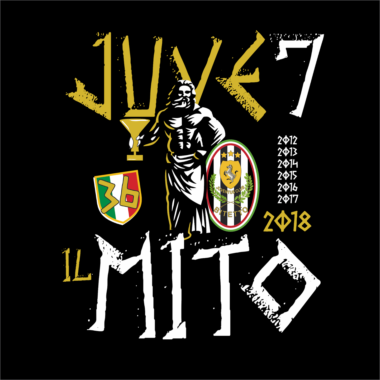 Juventus Official Fan Club Bitetto Gianni Umberto Agnelli T
