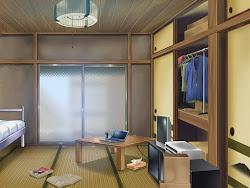Anime Landscape: Room Anime Background