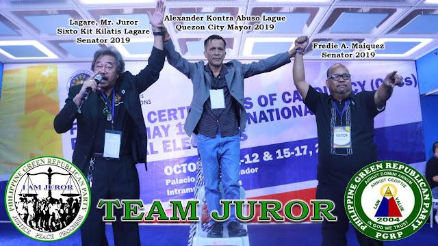 LIST: Tentative Candidates National Positions - Senators (PGRP)