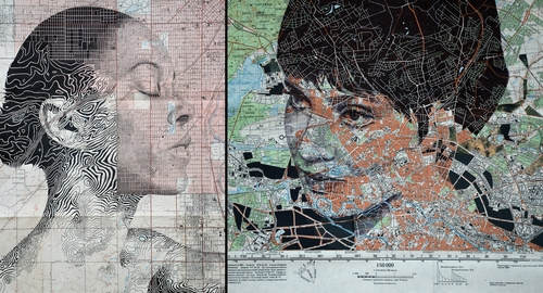 00-Edward-Fairburn-Maps-and-Cartography-linked-to-Portrait-Drawings-www-designstack-co
