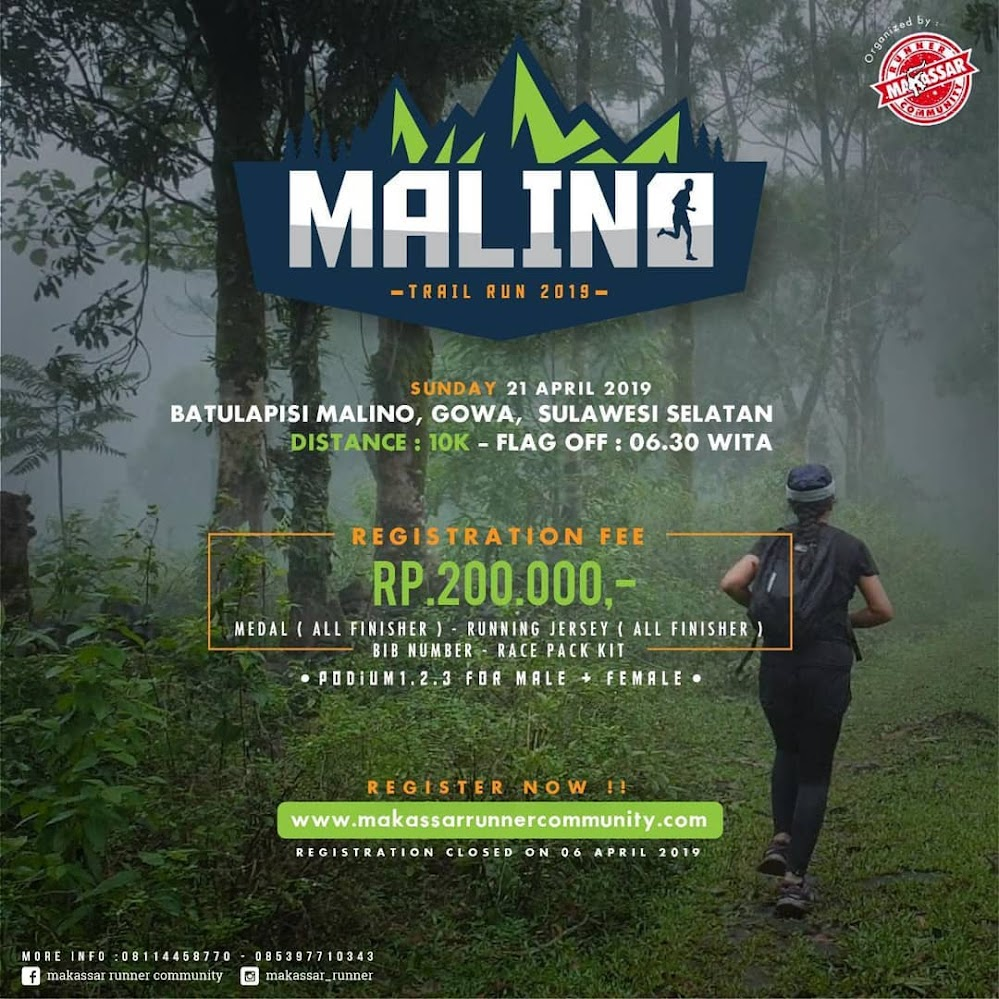 Malino Trail Run • 2019