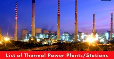 list of thermal power plants in