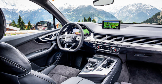 Interior del Audi Q7
