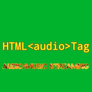HTML <audio> tag