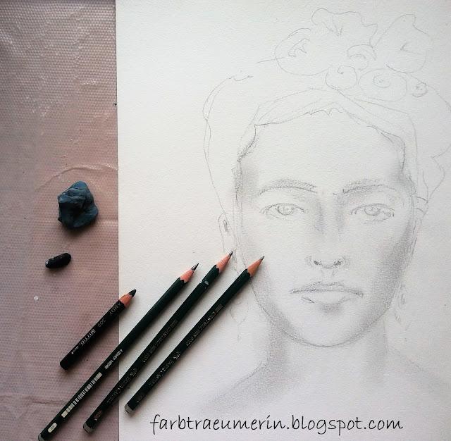 Zeichnen-mit-Bleistift-und-Kohle