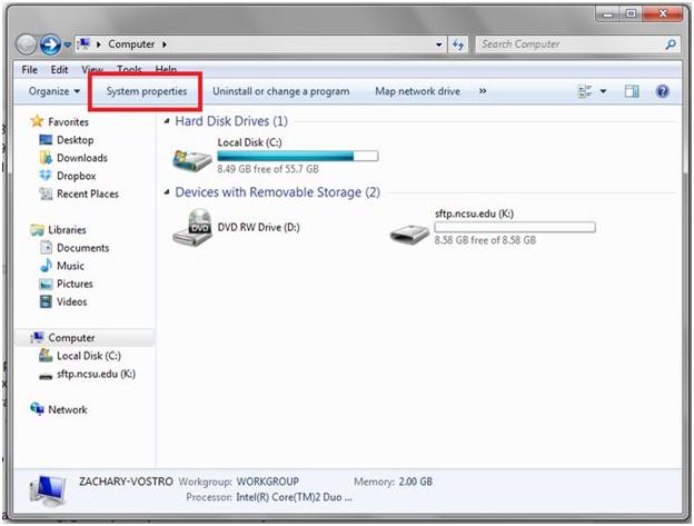gambar tampilan folder expllorer windows