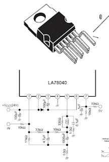 Vertikal LA78040