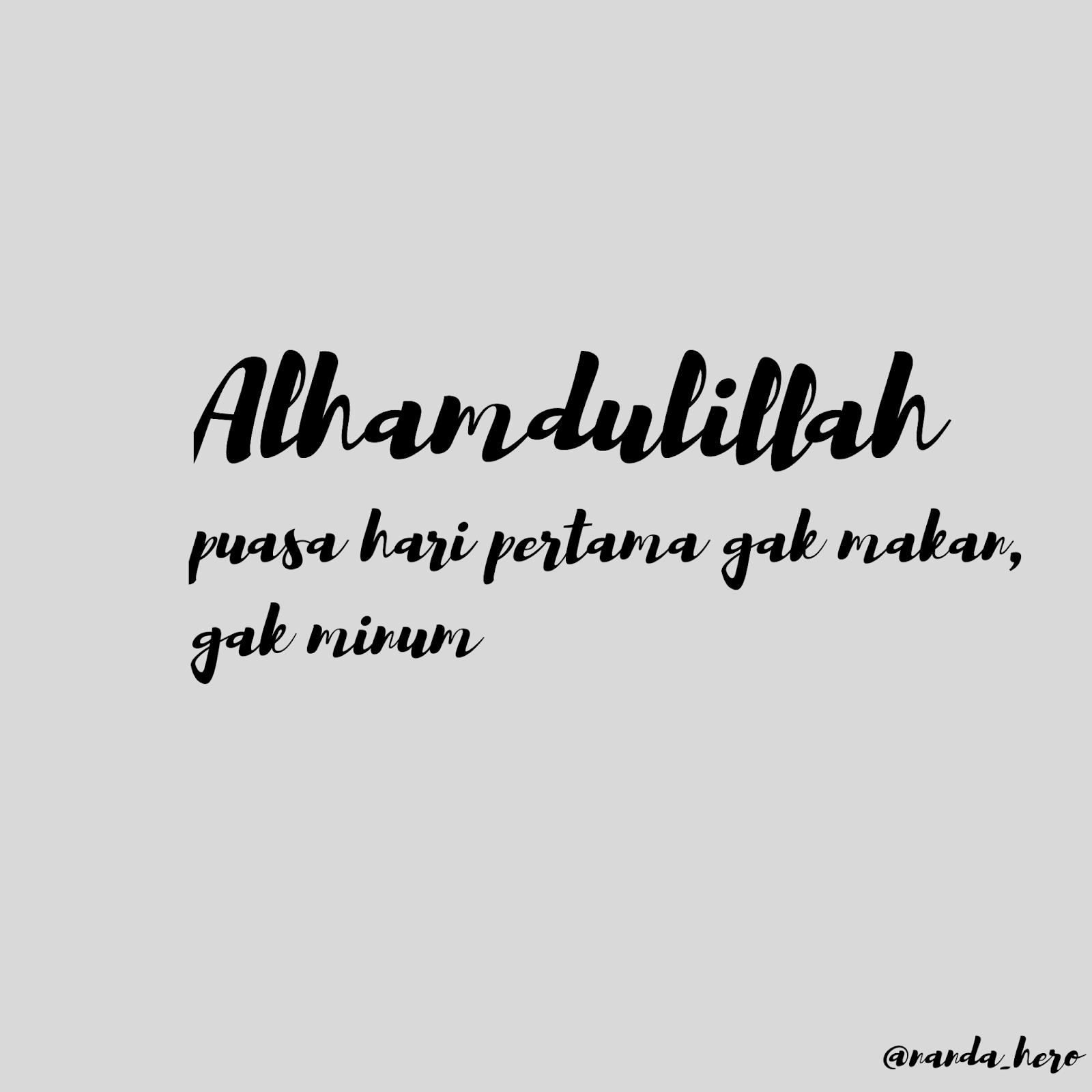 kata ucapan bulan ramadhan lucu