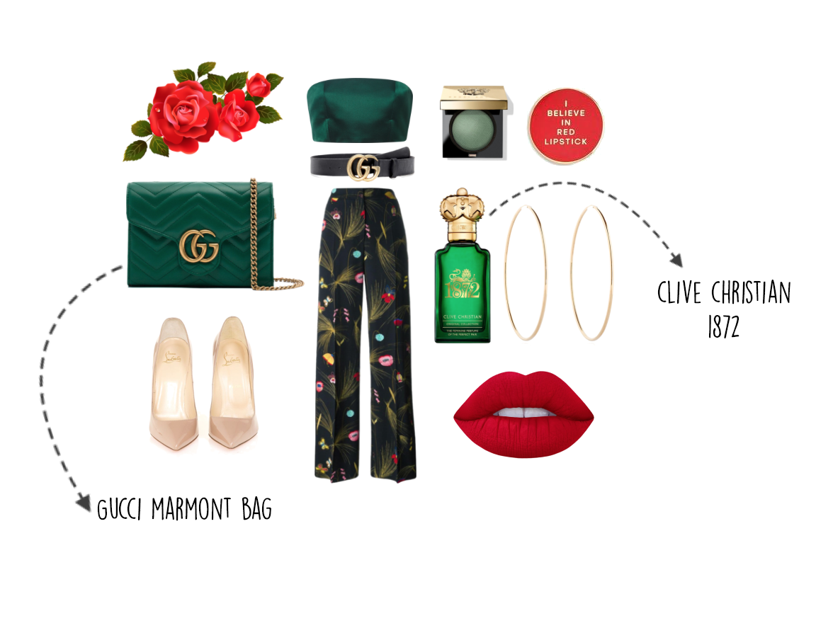 valentines outfit 2018, clive christian perfume, fendi trousers, cheap gucci belt