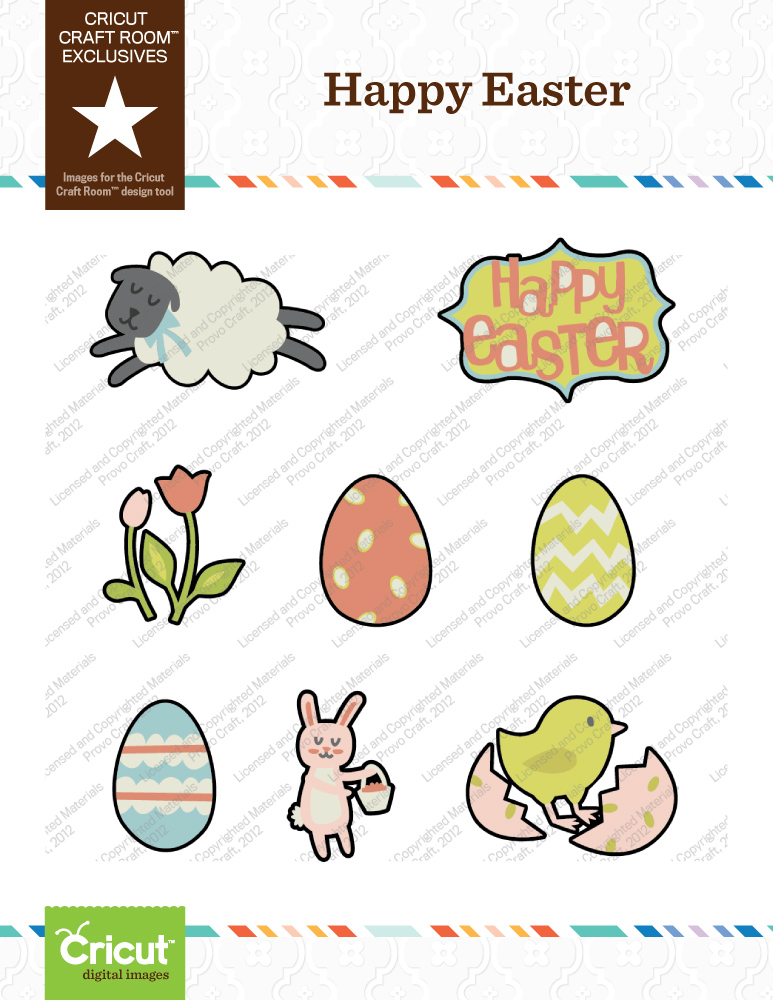 Obsessed With Scrapbooking: New Cricut Easter Digital