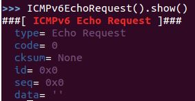 Learning by practicing: Crafting your first IPv6 ICMPv6 Echo