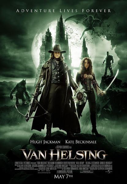 Poster Of Van Helsing 2004 720p Hindi BRRip Dual Audio Full Movie Download