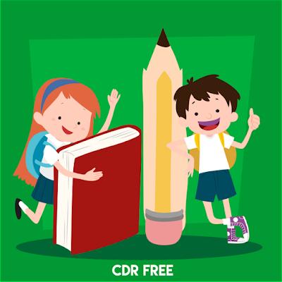 Download Kartun Anak Sekolah CDR vektor anak cdr  desain kartun format cdr  karakter kartun cdr  vektor anak sekolah  gambar anak sekolah vektor  vektor anak sekolah png  kartun islami cdr