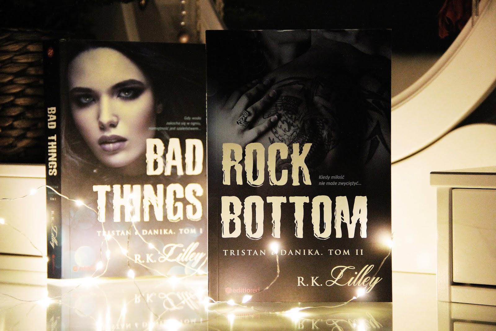 Rock bottom - R.K. Lilley 📖