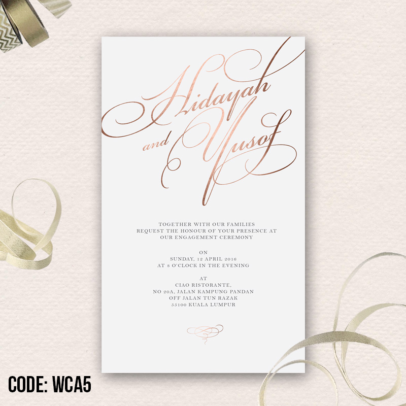 Your one stop wedding centre gifts deco favors and such material 260gsm art card with matte lamination aqueous coating free envelope stopboris Images