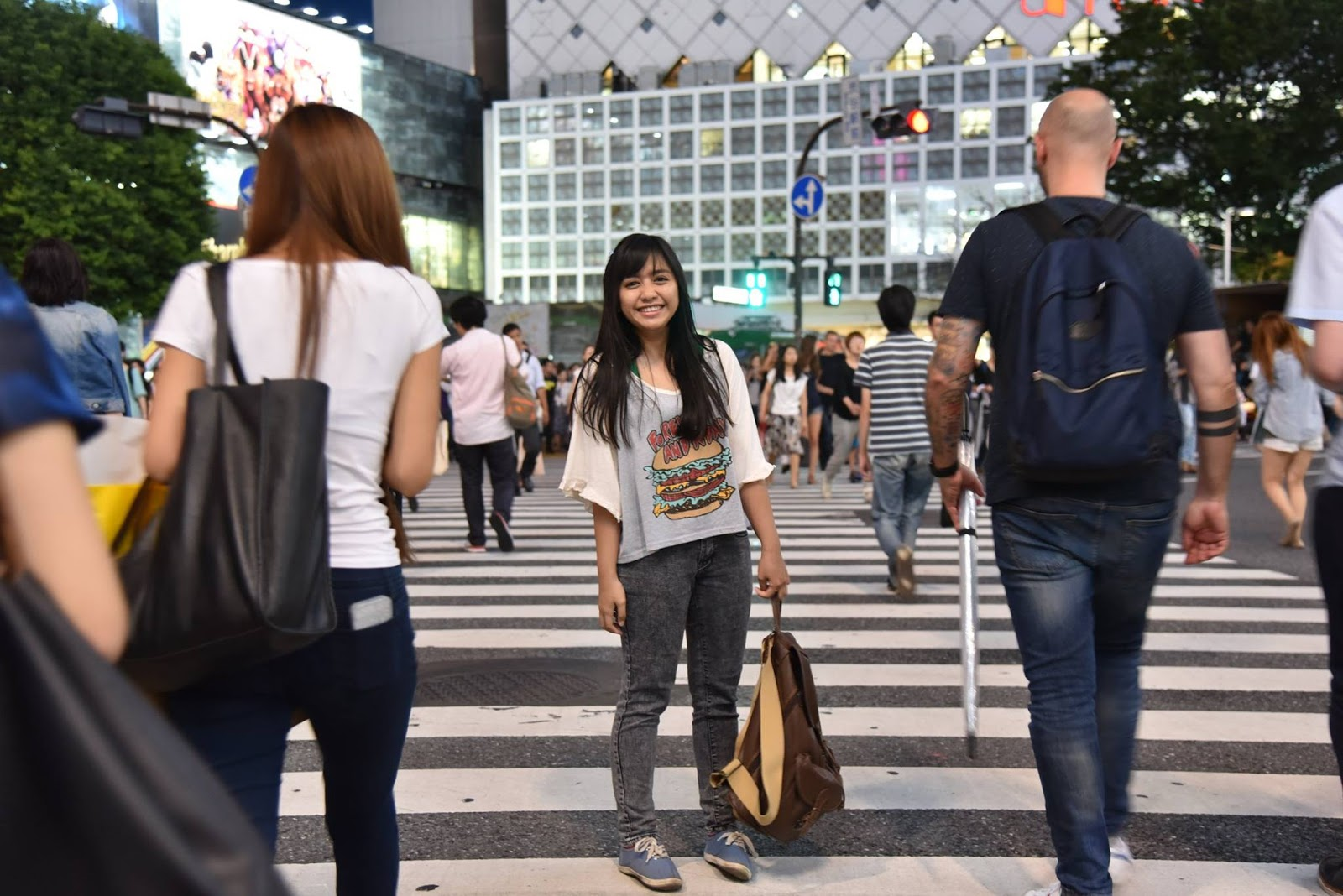 Me At The Shibuya Crossing