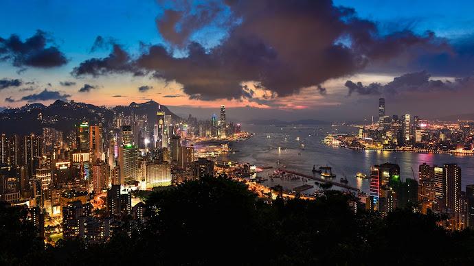 Wallpaper: Super Hong Kong Panorama
