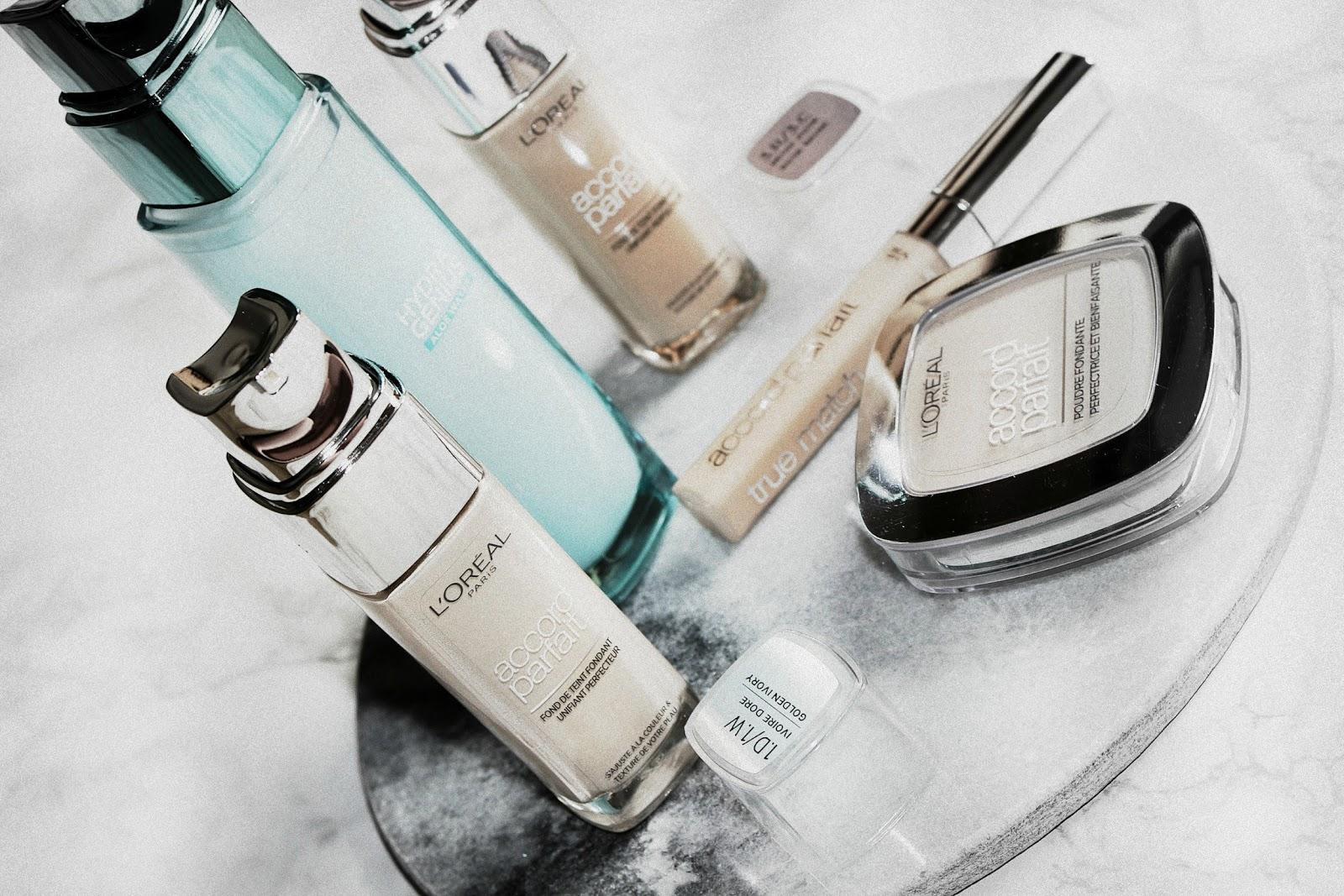L'Oreal Accord Parfait Makeup