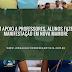 Em apoio a professores, alunos fazem manifestação em Nova Mamoré