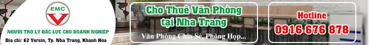 Cho thuê văn phòng tại Nha Trang
