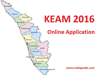 KEAM 2016 Application Form