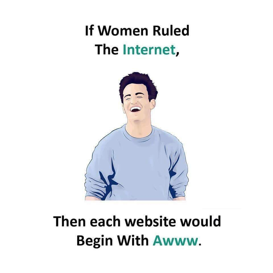 What if Women Rules the Internet