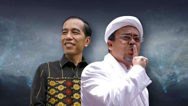 Jokowi Lakukan Segala Cara untuk Jadi Presiden Lagi, Warganet: Sungkem ke HRS yang Belum