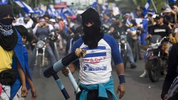 Policía de Nicaragua investiga violencia en marcha opositora