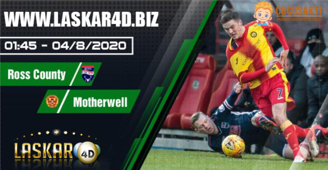 Prediksi Bola Ross County Vs Motherwell FC Selasa, 04 Agustus 2020