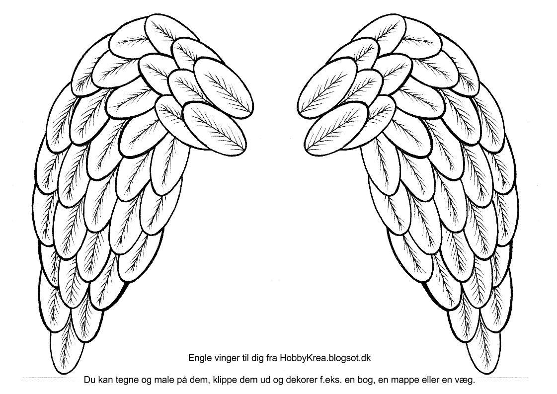 #2B2B2B Meget bedømt HobbyKrea Inspiration Og Ideer Til Gammelt Og Nyt : Tegn Englevinger Ud A  Gør Det Selv Gave Til Mor 5269 11217935269