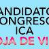 CANDIDATOS AL CONGRESO POR ICA. ELECCIONES 2016