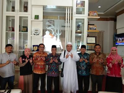 Pengurus BWI Bertemu Kemenag Lampung Bahas Pengukuhan