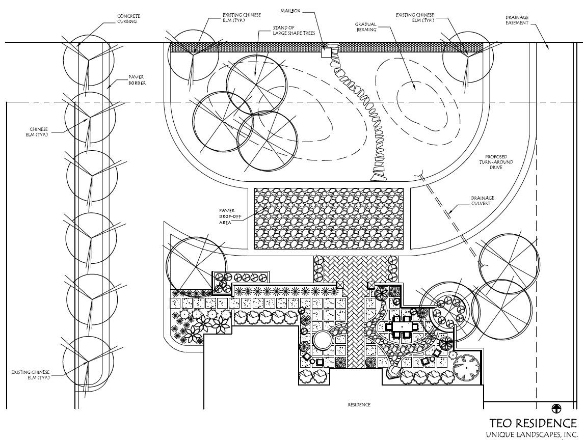 Gretel - Stone Accent Modern Front Yard Landscape Design Ideas's Garden: September 2011