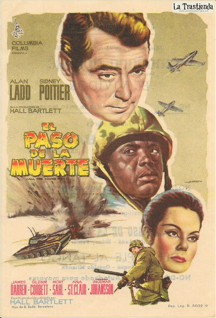 El Paso de la Muerte - Programa de Cine - Alan Ladd - Sidney Poitier