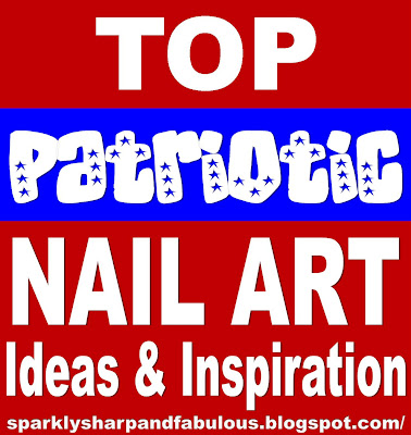 Top All American Patriotic Nail Art Designs