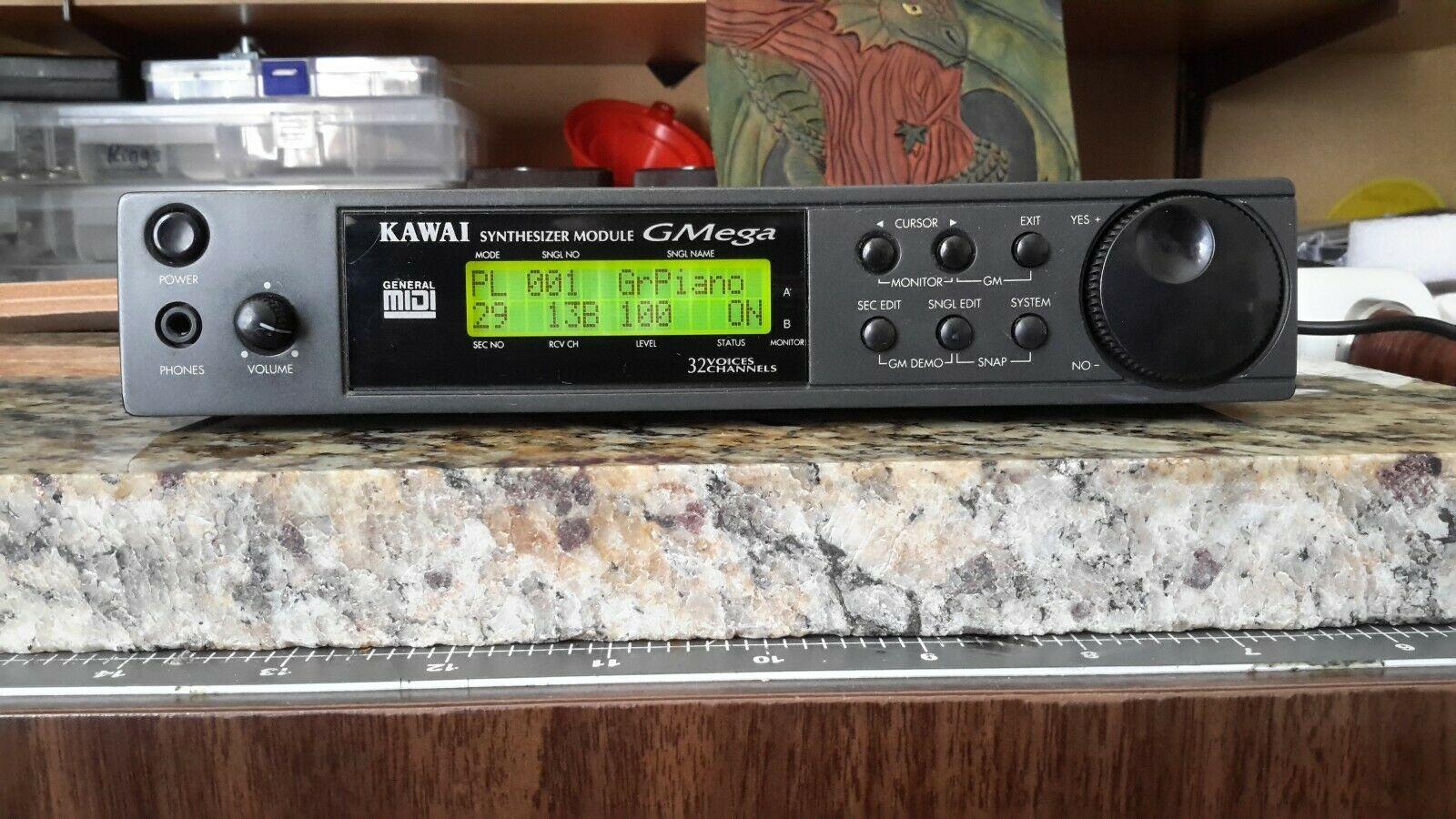 MATRIXSYNTH: Kawai GMega Genaral Midi Synthesizer Module SN