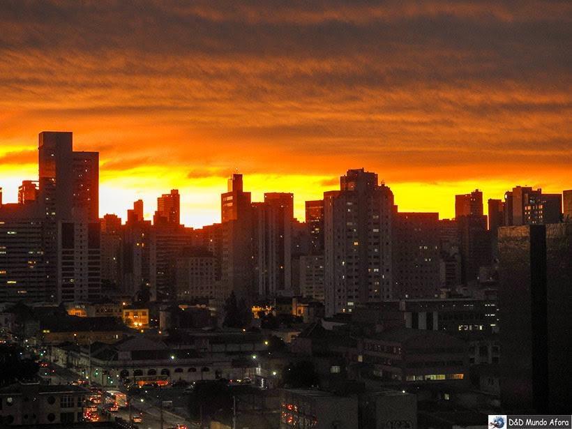 Pôr do sol em Curitiba, Paraná