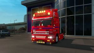 DAF CF Geranco truck edit