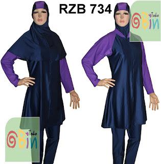 baju renang syari RZB 734