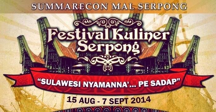Festival Kuliner Serpong 2014