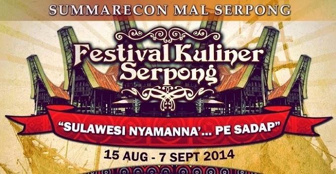 Menikmati Kuliner Khas Sulawesi di Festival Kuliner Serpong 2014