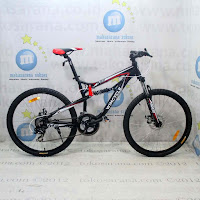 Sepeda Gunung Wimcycle M2 Alloy 21 Speed Cakram Mekanis Full Suspension 26 Inci