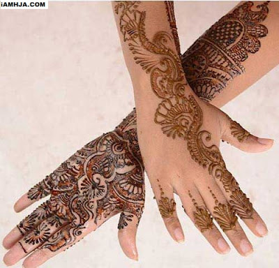 front and back side hand mehndi designs pics and images in the top quality