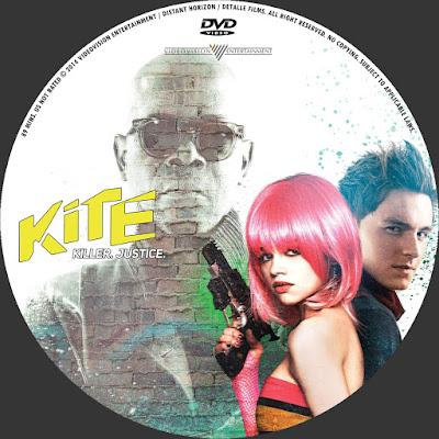Label DVD Kite