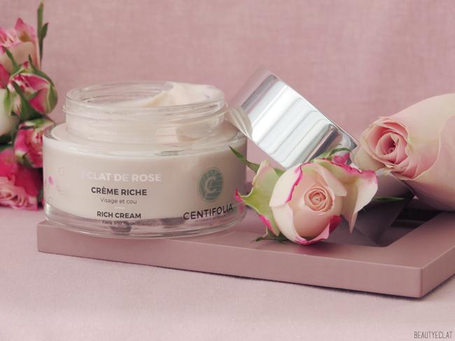 centifolia eclat de rose creme riche texture