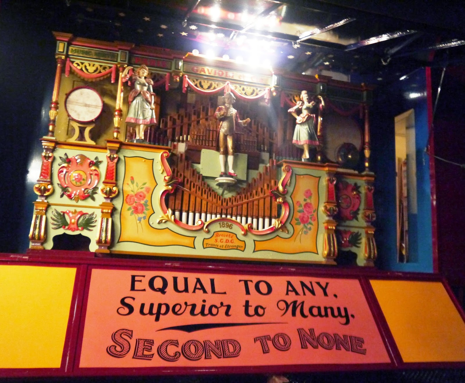 Carters Steam Fair Wedding - 1896 Fairground Organ