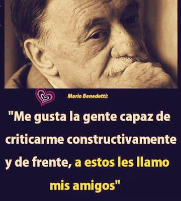 Mario Benedetti - La gente que me gusta