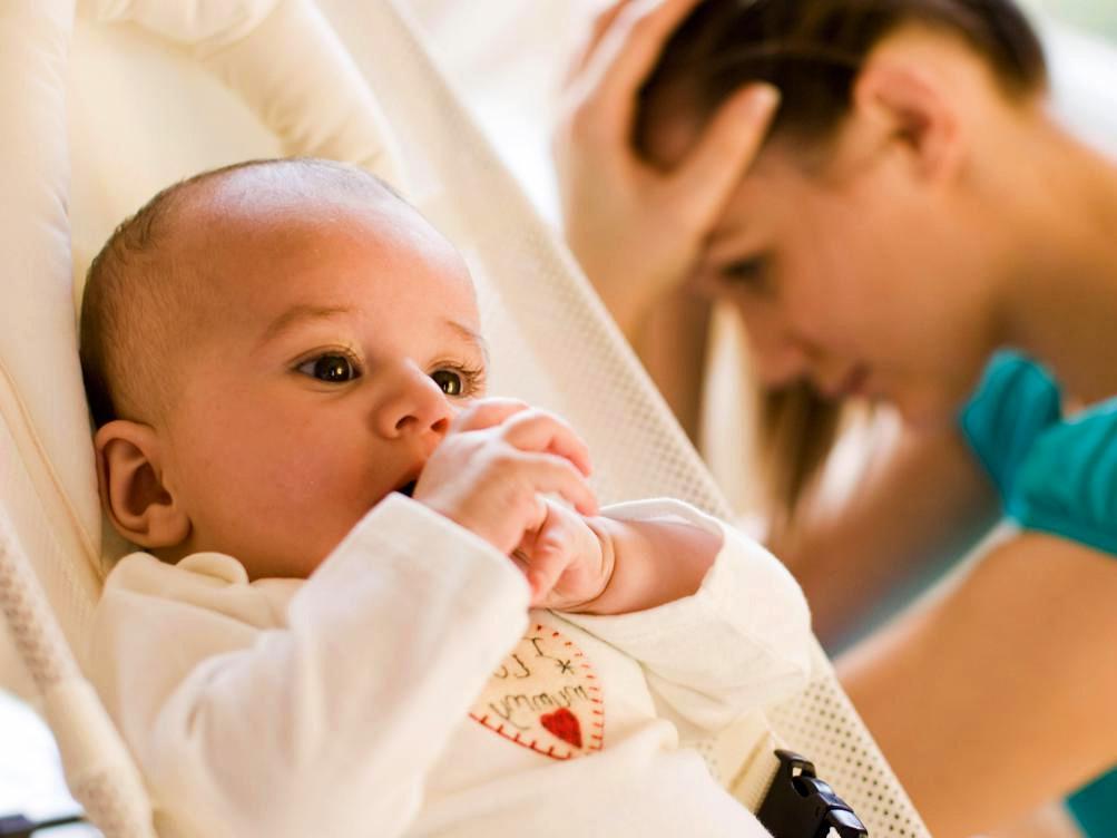 niemowlę, dziecko, mama, depresja, baby blues, smutek, nie kocham swojego dziecka
