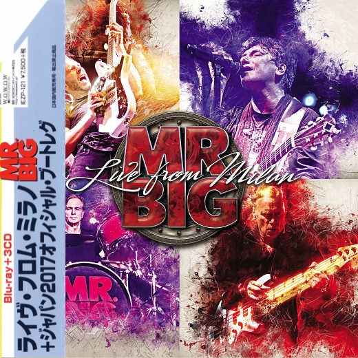 MR. BIG - Live From Milan [Japan Edition 3-CD exclusive bonus disc] (2018) full
